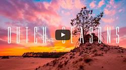 Dutch Seasons Timelapse Video over Nederland de Veluwe