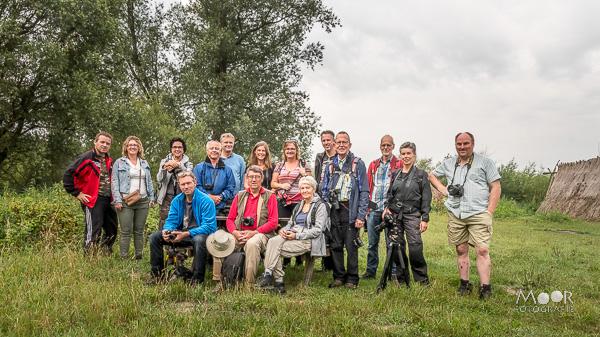 Impressie van de fotowandeling in de Biesbosch juli 2017