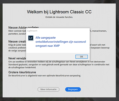 Lightroom Classic CC update 7.3